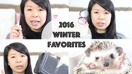 2016 Winter Favorites and Xmas Gifts