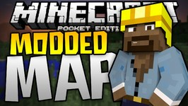 I CAN'T DO IT - Modded Puzzle Map - What Was That - Minecraft PE-Pocket Edition