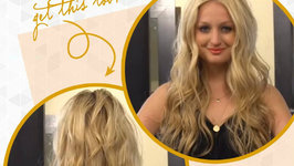 How to Get Rock N' Roll Waves Hair Tutorial