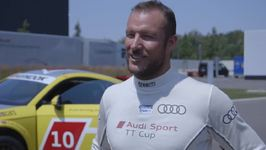 Ski superstars in Audi Sport TT Cup