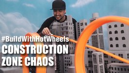 Mad Stuff With Rob - BuildWithHotWheels  Construction Zone Chaos  Hot Wheels