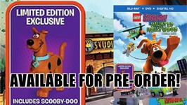 Pre-Orders Live for LEGO Scooby Doo Haunted Hollywood Blu-ray-DVD