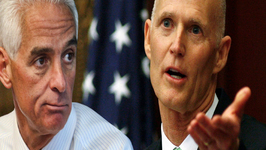 Charlie Crist and Rick Scott Election Gets Sticky in Florida