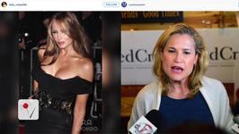 Trump tweets unflattering photo of Heidi Cruz