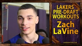 Lakers Pre-Draft Workout: Zach LaVine After 46 Inch Vertical