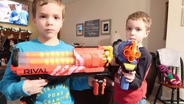 New Nerf Gun Unboxing And Review  Rival Artemis
