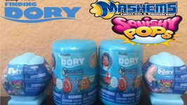 Finding Dory Mash ems and Squishy Pops -FindingDory