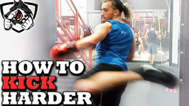 How To Kick Harder - Muay Thai Power Kicking Drill