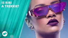 Rihanna on her futuristic shades