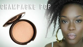 Jaclyn Hill X Becca Champagne Pop Highlighter Review for Dark Skin