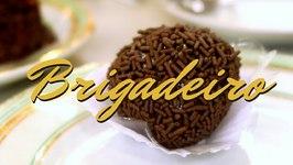 Brigadeiro - Brazilian desserts at Confeitaria Colombo in Rio de Janeiro, Brazil