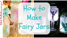 How to Make a Fairy Lantern Jar - Make It Monday