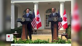 Canadian Prime Minister's First Official Visit to White House in 19 Years