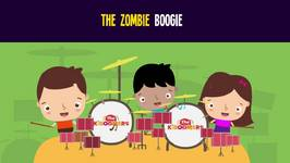 Zombie Boogie Song for Halloween - Halloween Songs for Kids