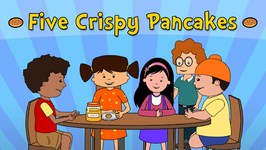 Five Crispy Pancakes  Nursery Rhymes  Animated Songs For Children