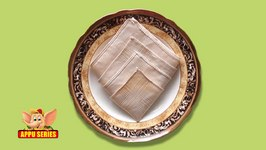Learn the Diamond Napkin Fold