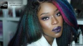 Chocolate Mermaid - Makeup And Hair tutorial