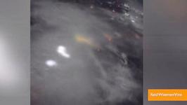 Astronaut Vines Lightening Storm over Houston