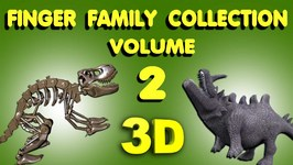 Crazy Finger Family Collection (Volume-2)  Top 12 My Kiddy World 3d Finger Family Nursery Rhymes
