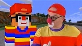 Car Clown Dima - CLOWN In MINECRAFT LAND