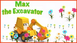 Toys Trucks  Cartoon Max's Magic Roundabout - Plant And Flower Names