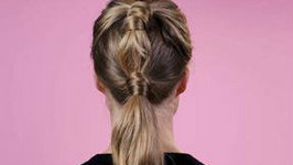 Hair With Hollie - Pretty Double Knot Ponytail
