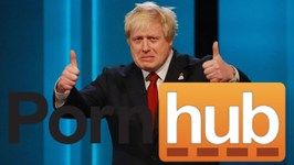PornHub Troll Posts Video of Boris Johnsons Brexit Speech
