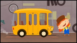 Car Doctor  Kid's Car Cartoons - School Bus Story   Doc McWheelie's Garage
