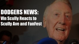 Dodgers News: Vin Scully Reacts to Street and FanFest