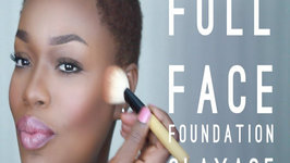 Full Face Dark Skin Foundation Tutorial