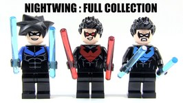 LEGO Nightwing Minifigures - Full Collection