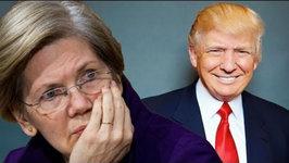Elizabeth Warren Slams Trump as