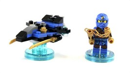 LEGO Dimensions Ninjago Jay Plus Storm Fighter Toy Review