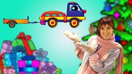 Car Cartoon  Helpy The Truck And Christmas Presents  Christmas Cartoon On KidsFirstTV.