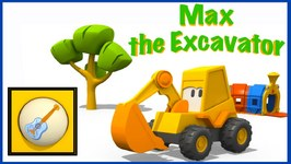 Children's Musical Instruments Games  Kid's Educational Cartoons - Excavator Max - Videos For Kids