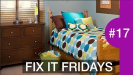 Interior Design  Tiny Boys Room Remodel Fix It Fridays 17