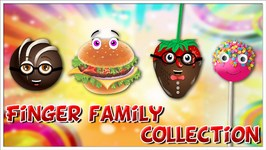 Ice Cream, Cake pop, Burger, Chocolate, Candy and many more Finger Family Songs