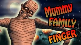 Mummy Finger Family  Halloween Scary Rhyme  Germany Nursery Rhyme For Kids In English
