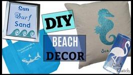 DIY Beach Decor, Crafts and DIYs