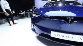 Tesla Model X P100D Exterior Design