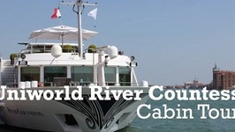 Uniworld River Countess River Cruise Cabin 419 Tour