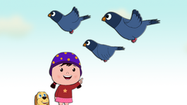 Three Blue Pigeons  Popular Children's Song
