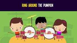 Ring Around the Pumpkin Song for Halloween - Halloween Dance Songs for Children