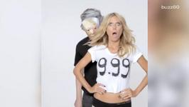 Heidi Klum Shrugs Off Donald Trump's Insults With Sexy Video