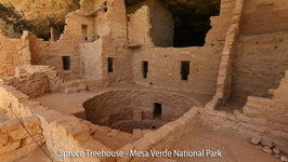 Spruce Treehouse at Mesa Verde National Park in Colorado
