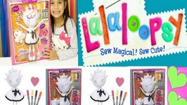 Lalaloopsy Color Me Squiggles N Shapes Doll- Unboxing & Review