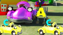 ABC on the Car Song  Alphabet Song For Children  3D Alphabet Song For Children