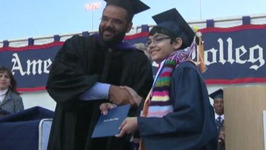 11-year-old Graduates College with 3 Degrees