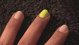 How to Do Neon Coloured Nails