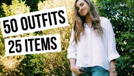 50 outfits from 25 Items - Summer Capsule Wardrobe 101